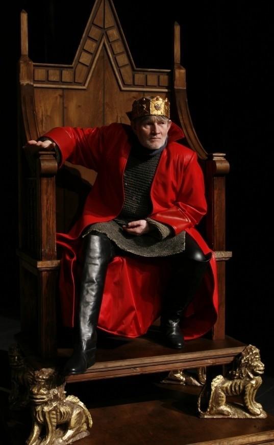 Wojciech Siedlecki w roli Ryszarda III