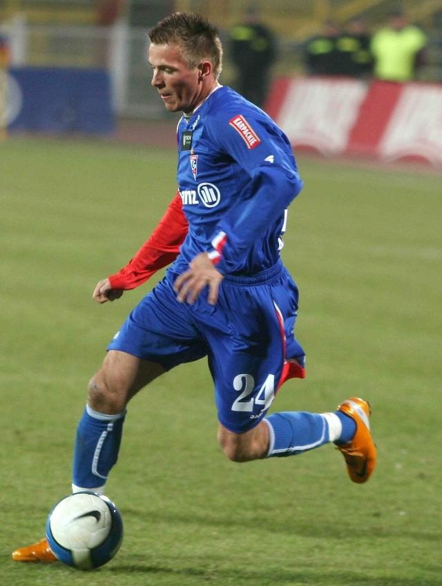 Michał Wodecki grał w Górniku Zabrze. Teraz gra przeciwko niemu
