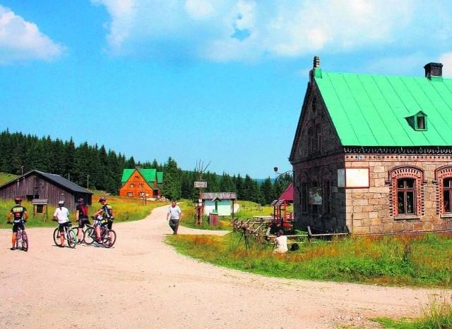 Osada Orle to popularny cel wycieczek w Górach Izerskich.