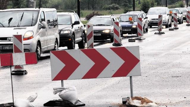 W czwartek ruszył remont ulicy Nawrot w Łodzi.