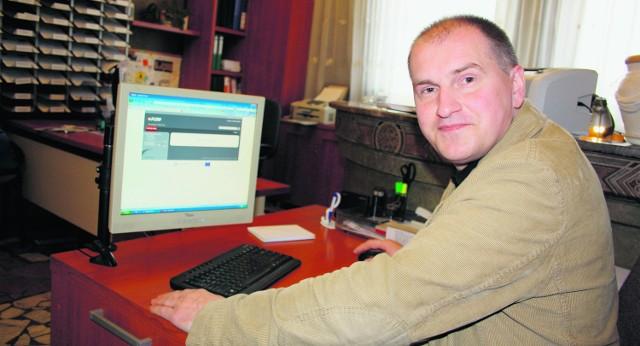 Już teraz do naszego urzędu można przysyłać e-dokumenty - mówi Piotr Gamrot, urzędnik z biura podawczego