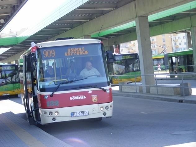 Od lipca większość sucholeskich autobusów będzie jeździła na dworzec na Piątkowo