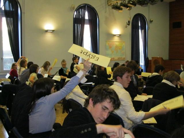 Młodzież topolówki wzięła w udział w symulacji obrad Zgromadzenia Ogólnego Narodów Zjednoczonych