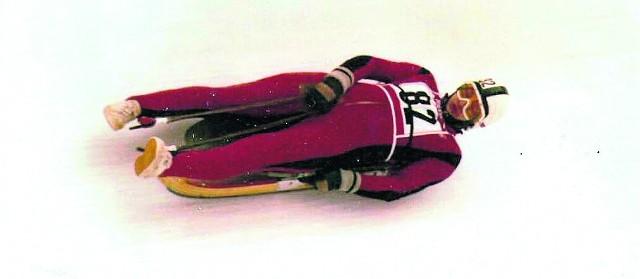 Dziadek, czyli Andrzej Żyła. Na igrzyskach w Innsbrucku zajął 10. miejsce w dwójce z Janem Kasielskim. A później wsiadł do boba