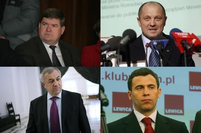 W debacie biorą udział Kazimierz Plocke (PO), Marek Sawicki (PSL), Wojciech Olejniczak (SLD) i Wojciech Mojzesowicz (PJN)