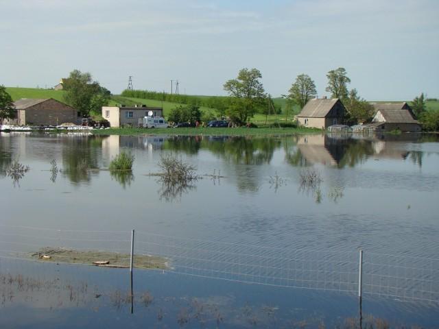 Tereny zalewowe w okolicy Goliny obejmują około 2900 hektarów