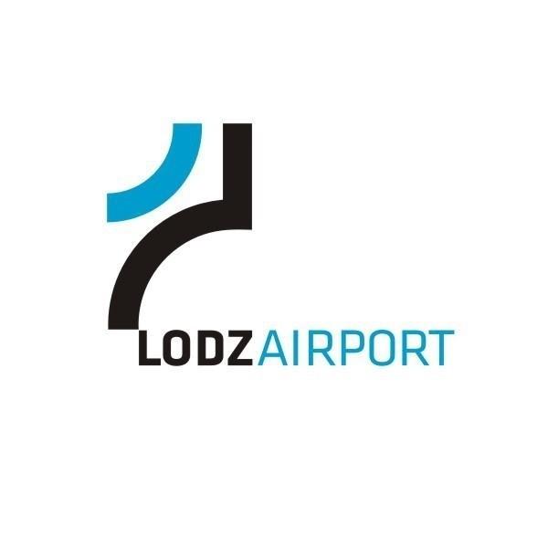 Nowe logo łódzkiego lotniska
