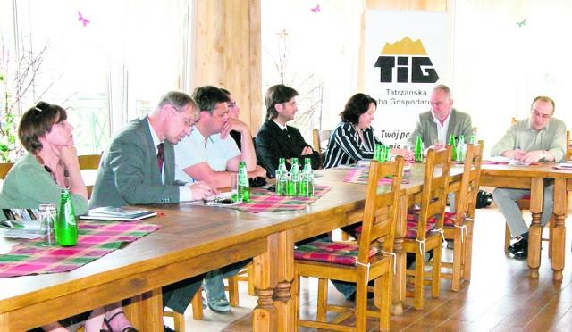 Na czwartkowym spotkaniu stawili się przedsiębiorcy, prezesi spółek oraz władze miasta i powiatu