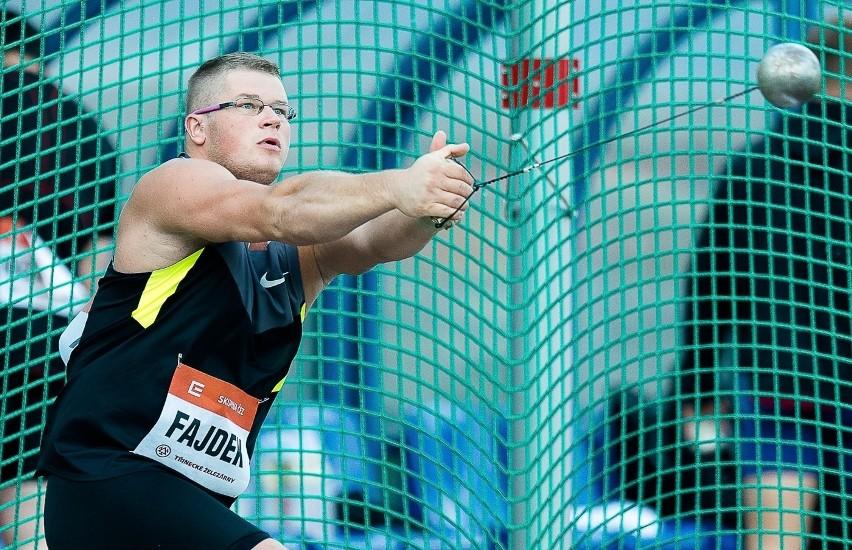 Paweł Fajdek (Agros Zamość) jest jednym z kandydatów do medalu