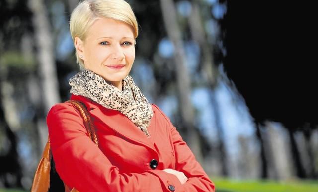 Małgorzata Kożuchowska jako Hanka Mostowiak.