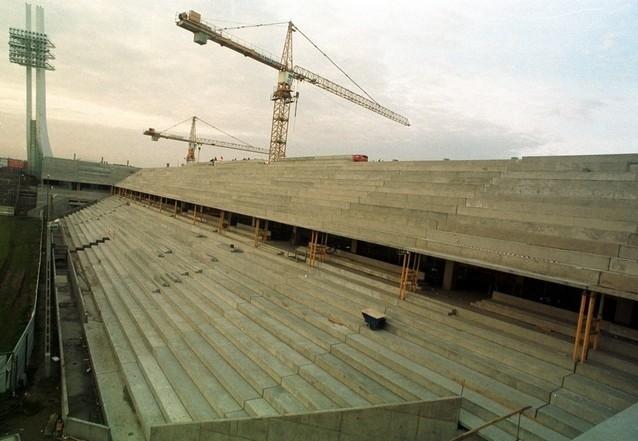 Pierwszym elementem, który został zmieniony przy Bułgarskiej była budowa IV trybuny.