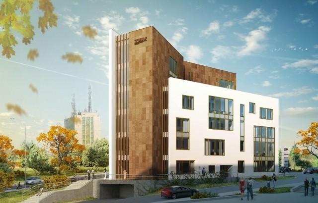 Biurowiec TBV Office Center powstaje przy ul. Chodźki 17 w Lublinie
