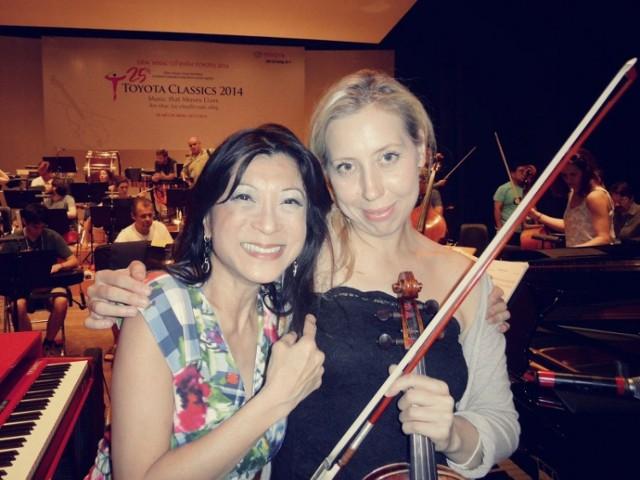 Emilia Goch, altowiolistka i dyrektor szczecińskiej Baltic Neopolis Orchestra