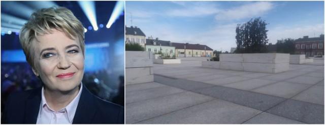 Hanna Zdanowska, prezydent Łodzi w swoich mediach społecznościowych opublikowała wizualizacje zrewitalizowanego Starego Rynku. Odniosła się przy tym do kosztownej rewitalizacji Placu Wolności w Kutnie