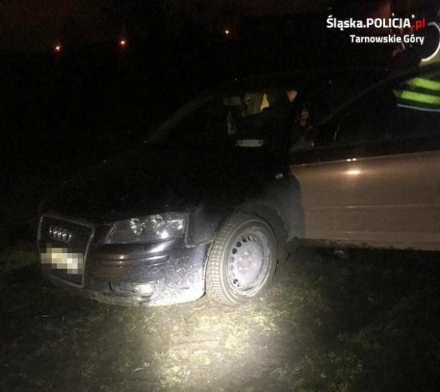 Świerklaniec: uciekał przed policjantami, a w samochodzie miał... amunicję oraz narkotyki