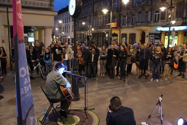 Marek Modrzejewski wystąpił w sobotę na Songwriter Łódź Festiwal.