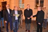 Roman Szełemej, kandydat na szefa dolnośląskiej PO odwiedził Oleśnicę
