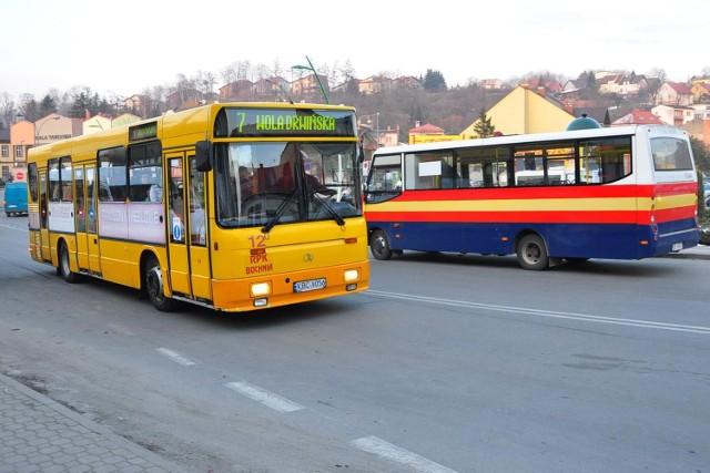 Po Bochni jeżdżą obecnie autobusy dwóch konkurencyjnych firm - miejskiej i rejonowej