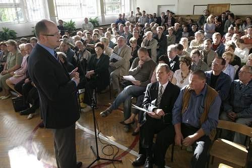 Spotkanie z mieszkańcami dzielnic Gdańska.