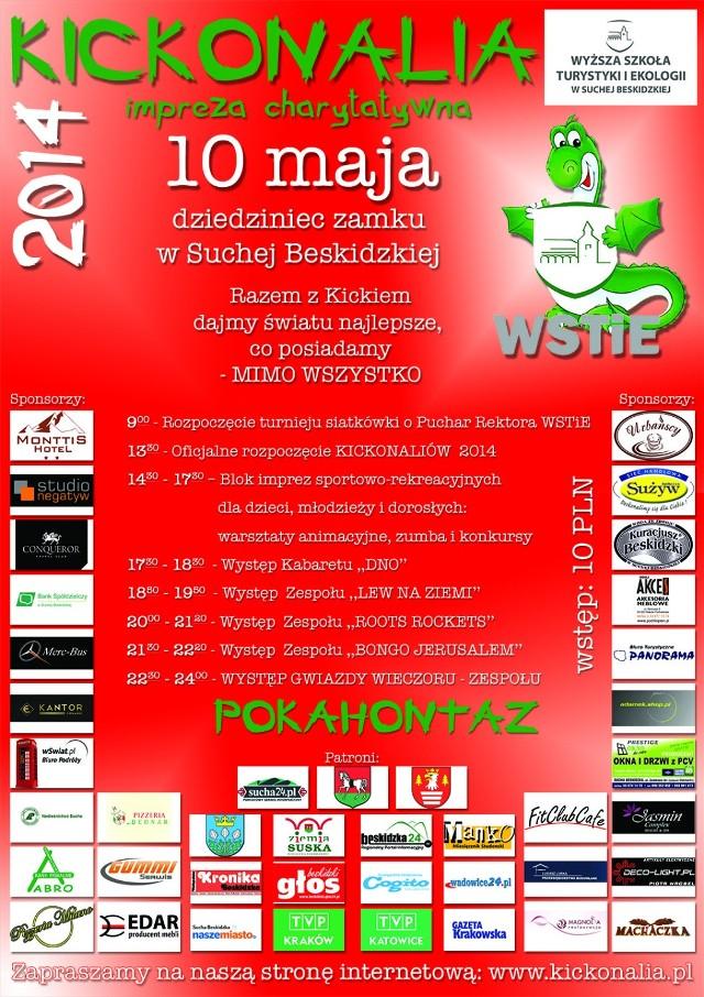 Kickolnalia 2014, Sucha Beskidzka