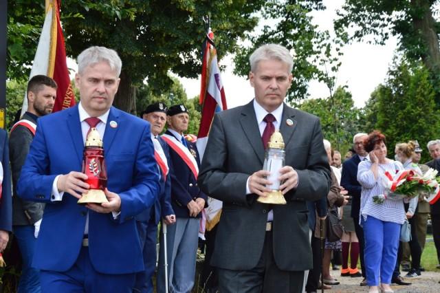 Żary, 11 lipca 2020. Uroczystości pod Krzyżem Wołyńskim w rocznicę 11 lipca 1943 roku