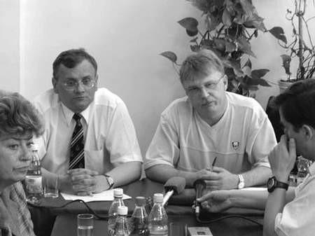 Prominentni działacze lewicy chcą nadzwyczajnej sesji Rady Miasta. fot. JAKUB MORKOWSKI