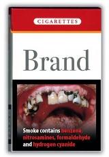Drastyczne ostrzeżenia od marca na paczkach papierosów
