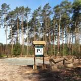 Nadleśnictwo Kalisz udostępniło nowe miejsca postojowe dla miłośników leśnych wędrówek ZDJĘCIA