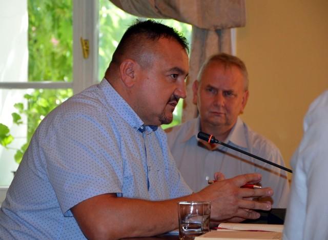 Prezes Robert Florczak (z lewej)