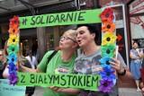 Protest przeciwko przemocy, Legnica solidarna z Białymstokiem [ZDJĘCIA]