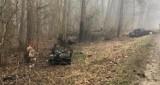 Mglisty poranek i śmierć na drzewie. Nie żyje 38-letni mężczyzna