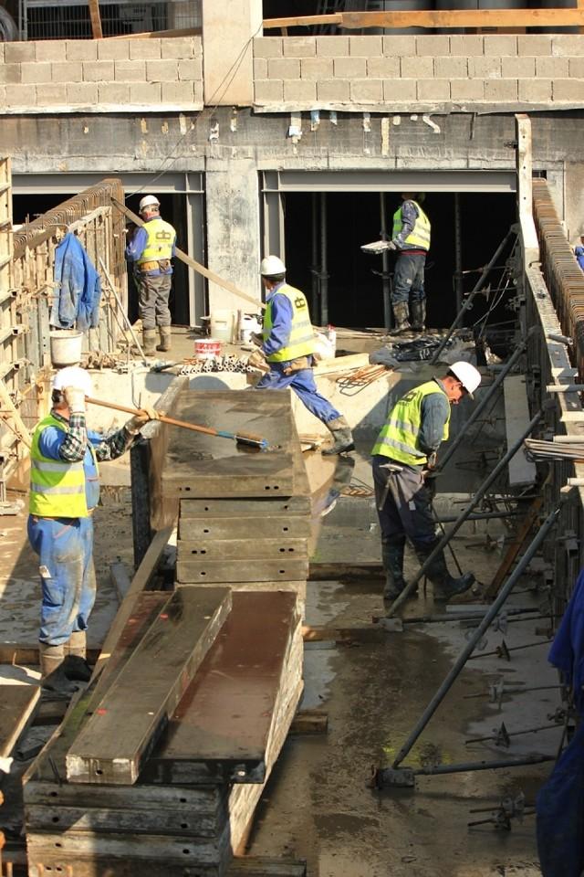 Budowa stadionu w Zabrzu