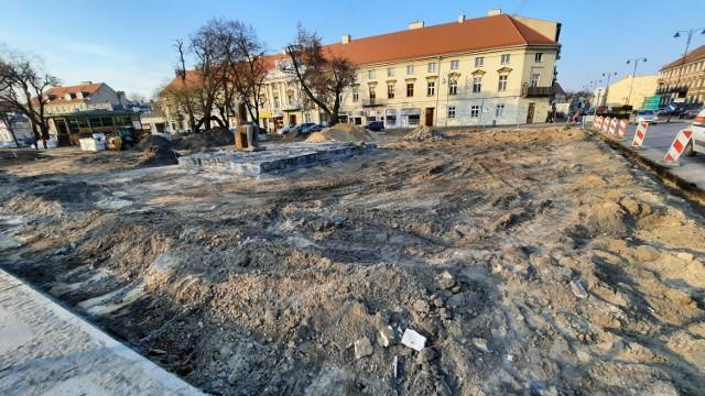 Planty w Kaliszu wciąż w przebudowie. Jak przebiegają prace?