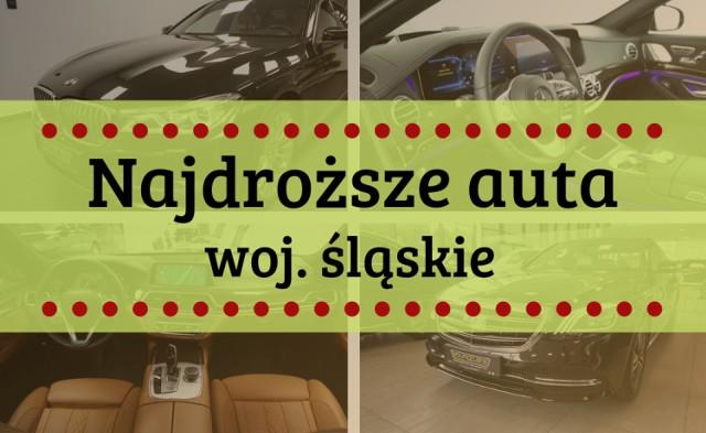 Listę 15 najdroższych samochodów używanych do kupienia w naszym województwie, znajdziesz na kolejnych slajdach --->