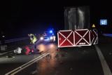 Drogowa tragedia w gminie Pniewy. Nie żyje motocyklista [FOTO]