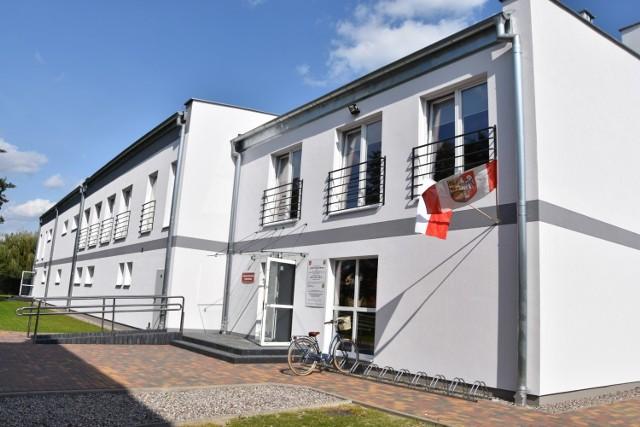 Nowa część hali Powiatowego Centrum Sportu