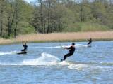 Kitesurfing na jeziorze Bukowo w gminie Darłowo [zdjęcia]