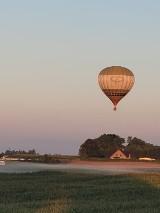 W Nowych Polaszkach startował balon. Warunki atmosferyczne były doskonałe