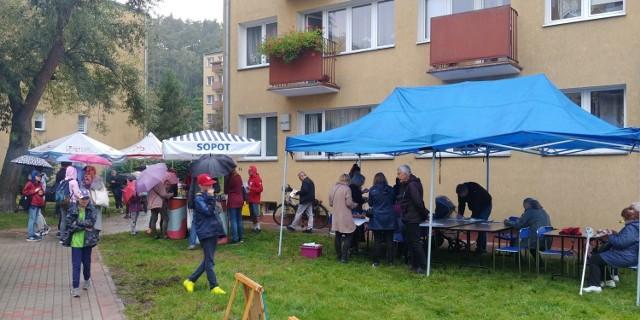 Piknik sąsiedzki w Sopocie przy ul. Kraszewskiego w piątek, 17.09.2021 r.