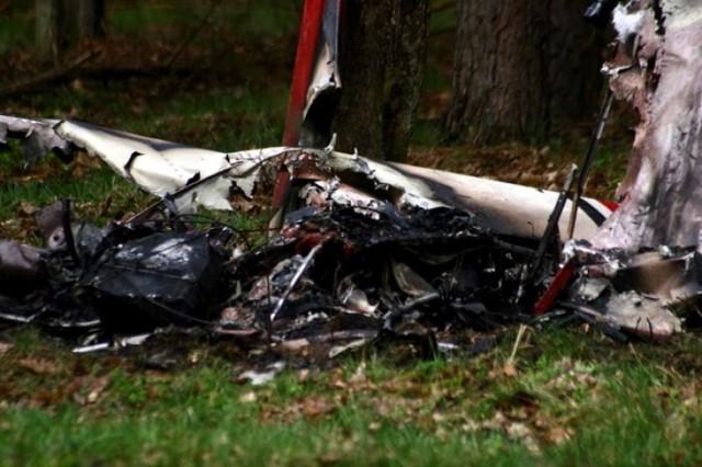 Wypadek lotniczy w Starej Wsi