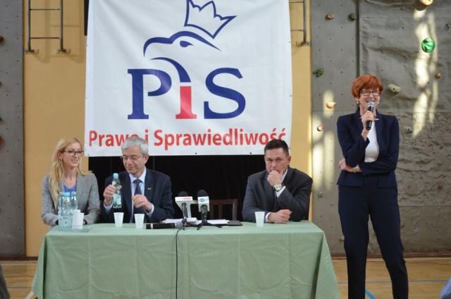 Minister Elżbieta Rafalska w Biłgoraju.