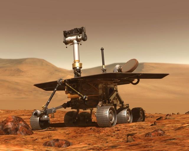 2003 – NASA: w kierunku Marsa została wystrzelona sonda Spirit.