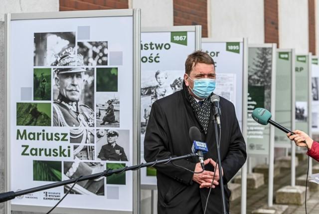 Gdański IPN przypomniał okolicznościową wystawą postać gen. Mariusza Zaruskiego.