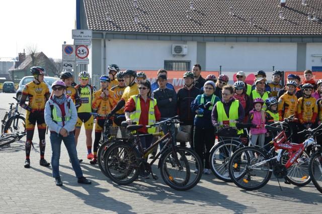 Rozpoczęcie sezonu rowerowego z Lwem Lębork