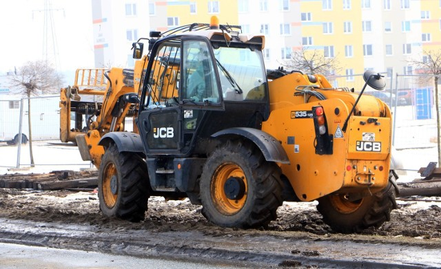 Modernizacja torowiska tramwajowego przy osiedlu Rządz w Grudziądzu trwa od lutego