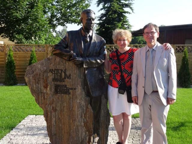 Grodzisk: Odsłonięcie pomnika Antoniego Thuma