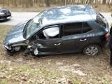 Zderzenie na drodze wojewódzkiej 235 niedaleko Chojnic. Jedna osoba ranna trafiła do szpitala