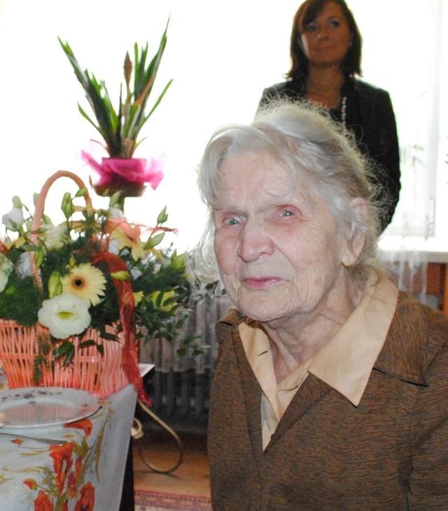 Łucja Cieślak z Piotrkowa 12 września skończyła 100 lat