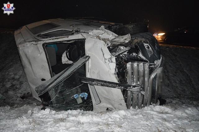 Wypadek w Brzeźnie