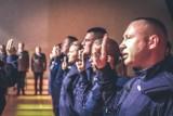 Ślubowanie nowo przyjętych policjantów [zdjęcia]
